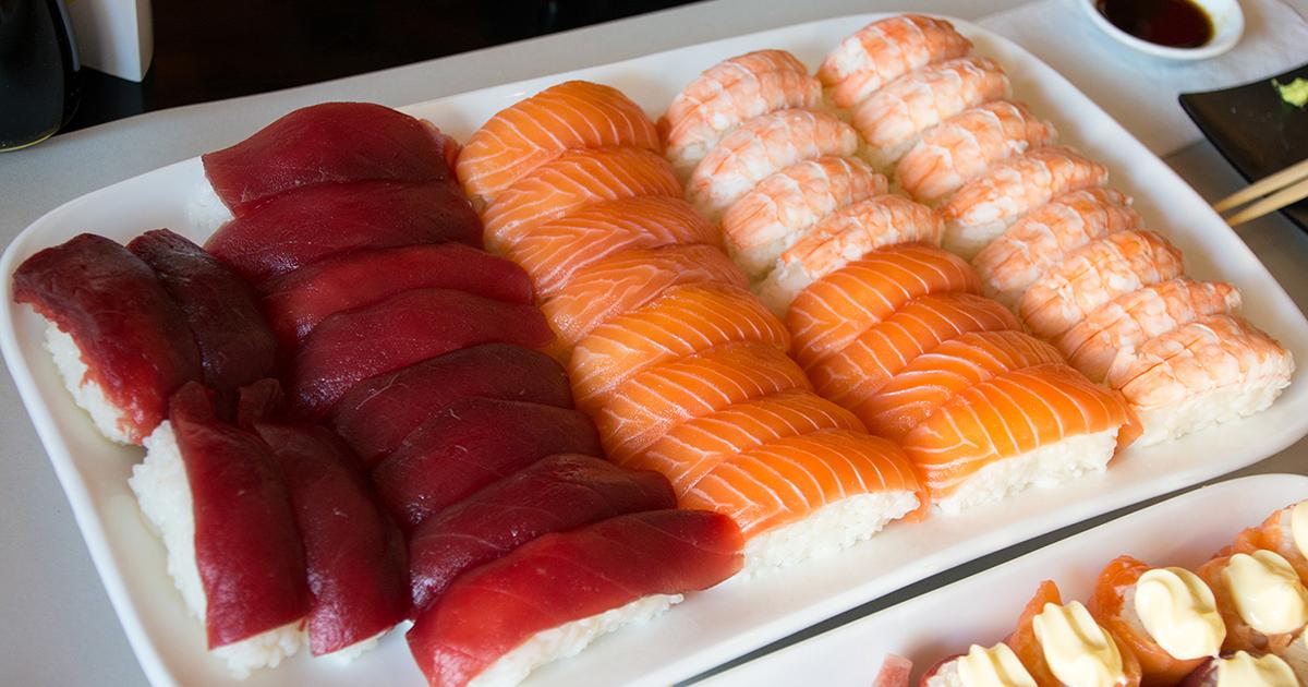 ケープタウンの寿司食べ放題
