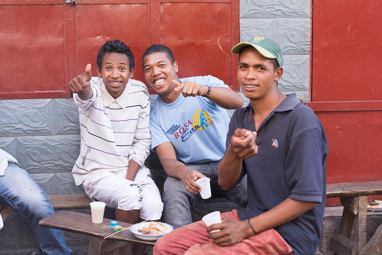 仲良くなったマダガスカル人の兄ちゃん