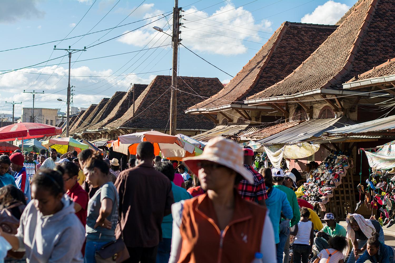 アンタナナリボの市場