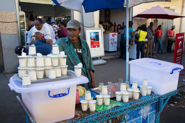 マダガスカルのプリン