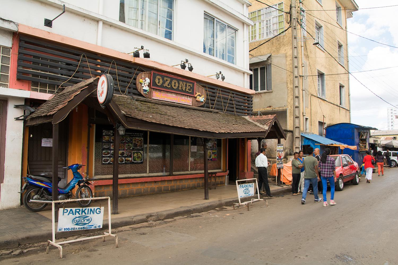 マダガスカルのタイ料理屋