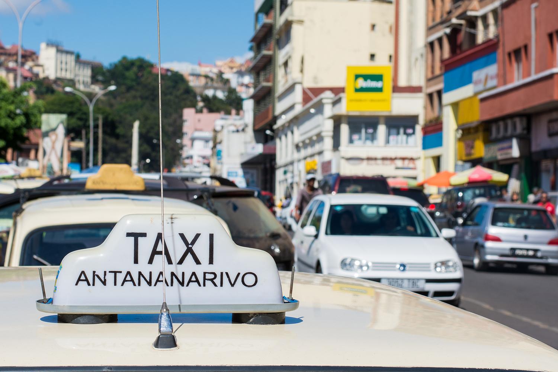 アンタナナリボのタクシー