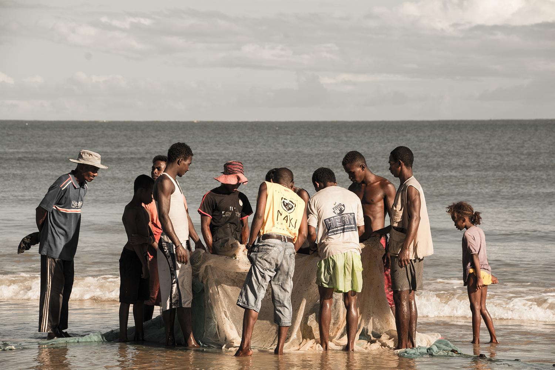 モロンダバのビーチ