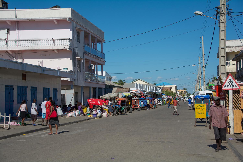 モロンダバの街並み