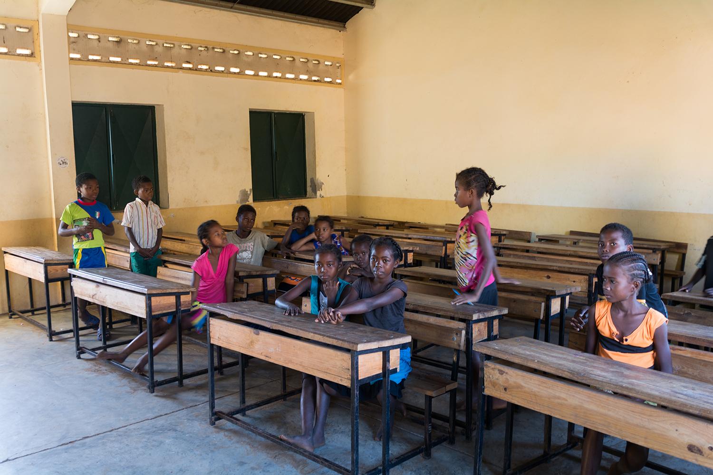 マダガスカルの学校