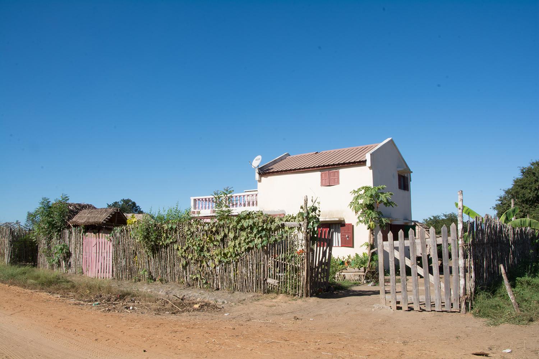 マダガスカルの一軒家