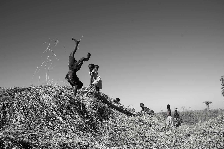 マダガスカルの子供達
