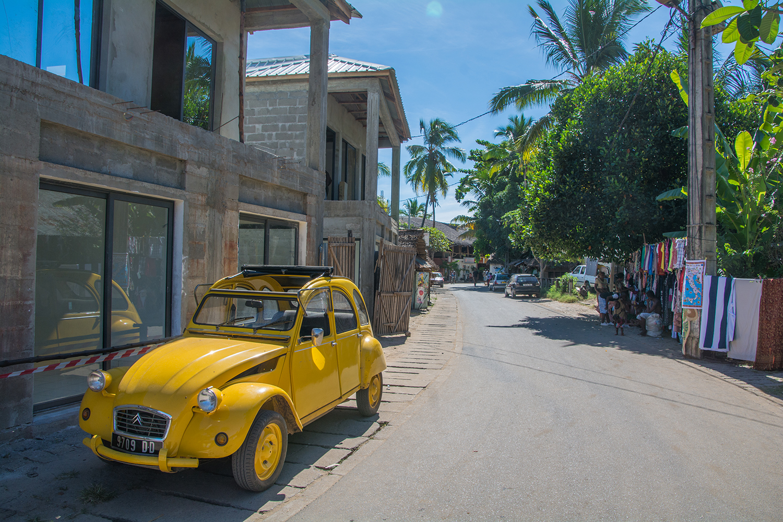 マダガスカルのタクシー