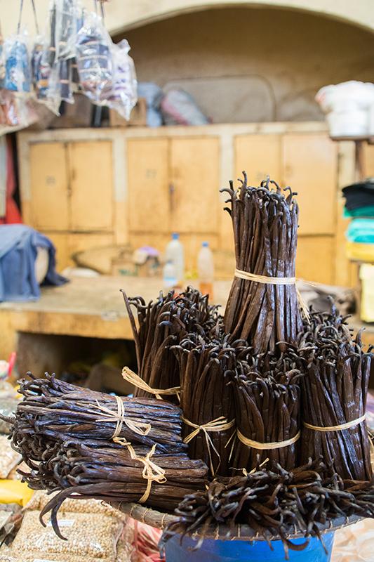 マダガスカル産のバニラ