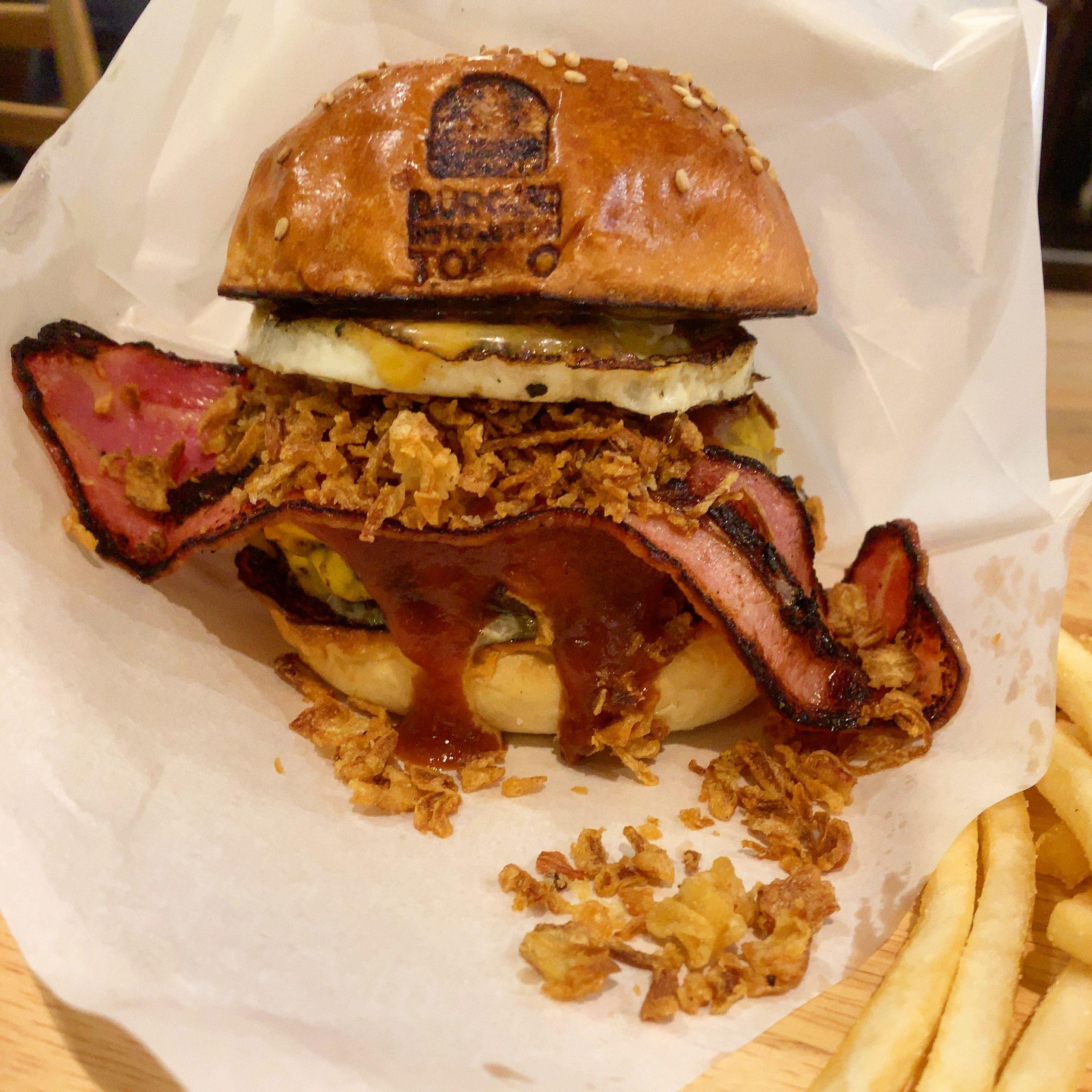 Burger Revolution Tokyo Nishiazabu BRTバーガー