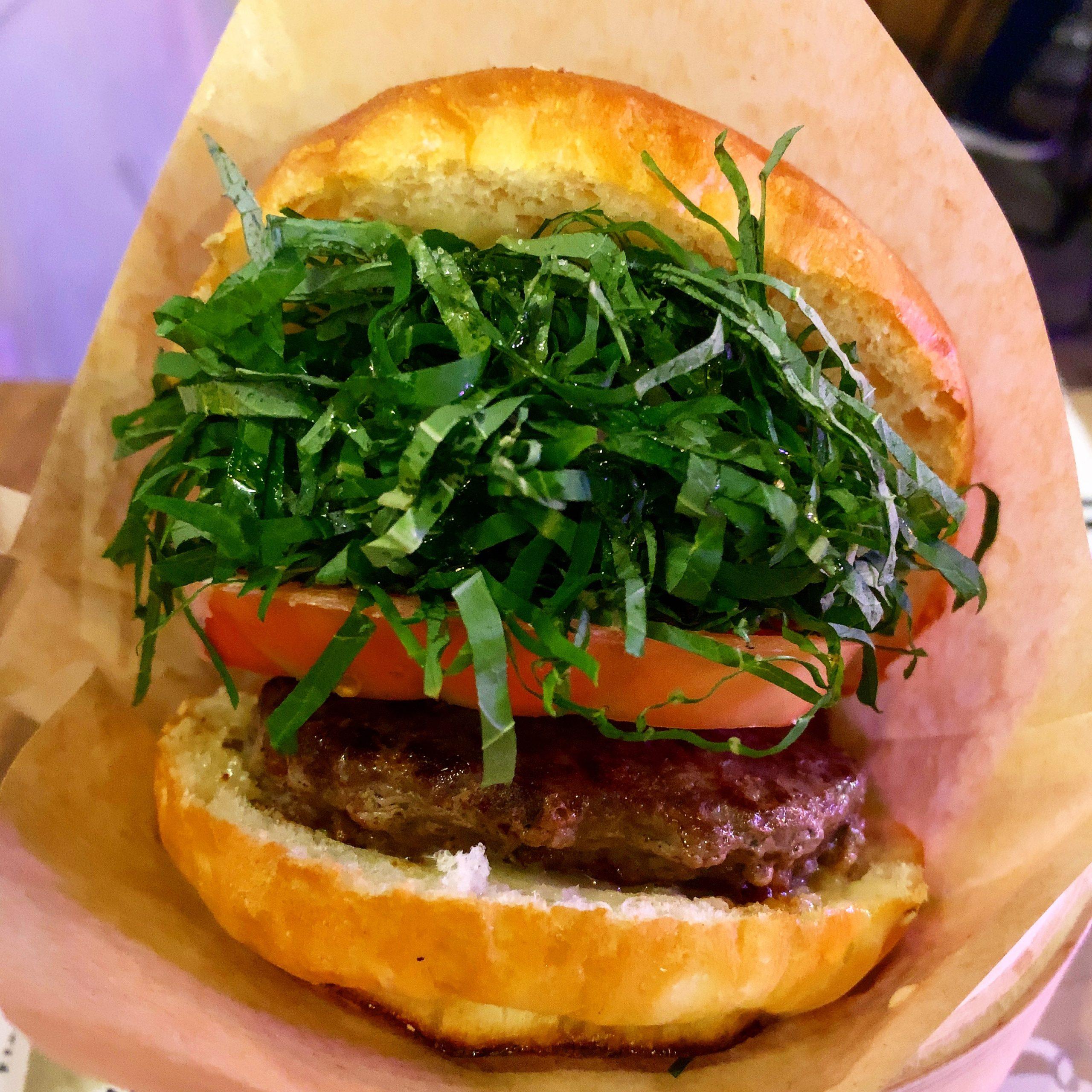 Shiso Burger 紫蘇バーガー