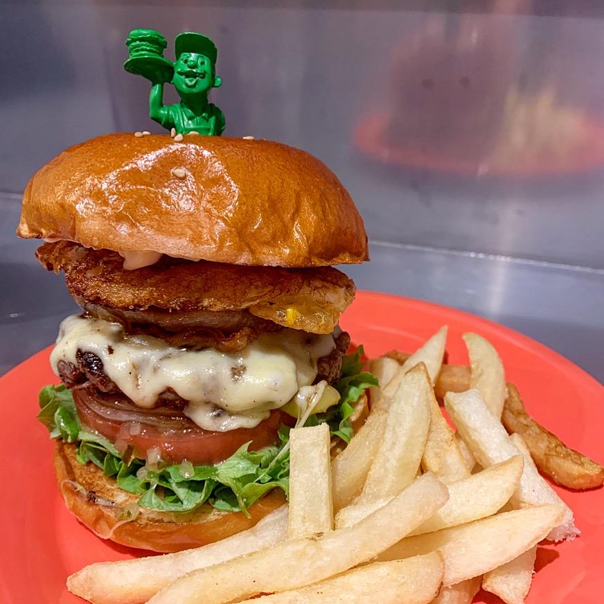 Burger Factoryバーガーファクトリー ベーコンエッグチーズバーガー